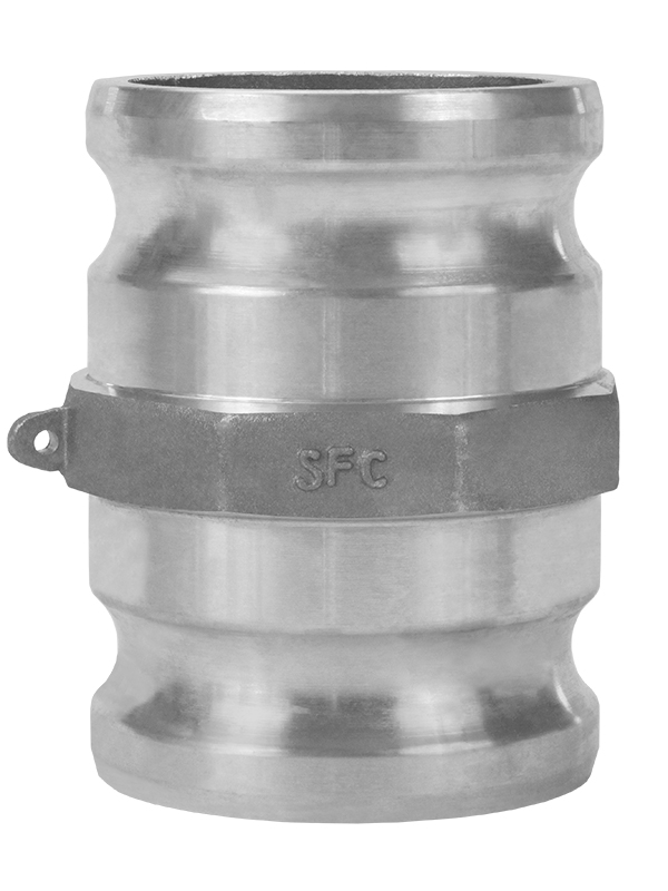 Aluminum Type Sa Male X Male Spool Adapter Cam And Groove