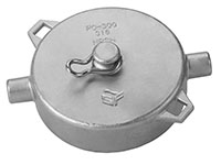 3 Inch (in) Size Female NPSM 316 Stainless Steel Pipe Cap
