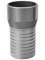 3 Inch (in) Size Aluminum Weld Bevel Combination Nipple