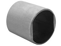 3.469 to 3.719 Inch (in) Size 304 Stainless Steel Notched Ferrule