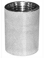 3/4 Inch (in) Size 316 Stainless Steel Merchant Coupling