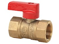 1 Inch (in) Size T-Handle Gas Ball Valve