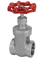 1 1/4 Inch (in) Size 316 Stainless Steel Gate Valve