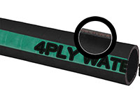 Water Discharge Hose - 4 Ply (EPDM/SBR Blend) (DH 200)