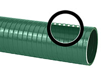 PVC Suction Hose - Green or Clear (GR/CL 200)