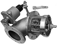 960P Emergency Internal Valve - Pneumatic 90° Elbow