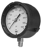 "Process Gauges - 4 1/2"" Face x 1/2"" Process Gauges (Dry) Lower Mount"