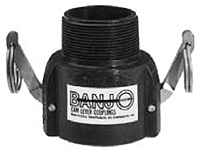 Banjo Polypropylene - Coupler x Male NPT