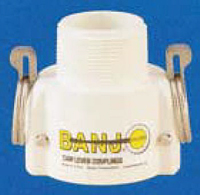 Banjo Polypropylene FDA - Coupler x Male NPT