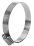 2 3/4 x 3 5/8 Inch (in) Size Stainless Steel Hi-Torque HD Hose Clamp