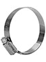 57 x 80 Millimeter (mm) Size Stainless Steel Hi-Torque HD Hose Clamp