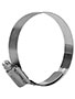 57 x 80 Millimeter (mm) Size Stainless Steel Hi-Torque Hose Clamp with Liner