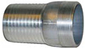 Combination Nipples for Straight End Hose - Male N.P.T. Aluminum