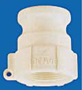 Banjo Polypropylene FDA - Female Adapter x Female NPT