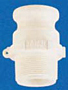Banjo Polypropylene FDA - Adapter x Male NPT
