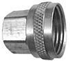 Garden Hose Fittings - Female Hose x Female Pipe, Swivel