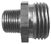 Garden Hose Fittings - Male GHT x Male Pipe