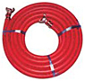 Seal Fast Air Hose Coupled and Uncoupled (Red)