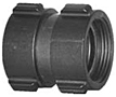 Aluminum Couplings Hard Coat - Female x Female Swivel