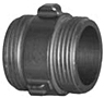 Aluminum Couplings Hard Coat - Male x Male