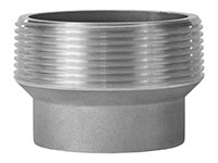 Aluminum 3 Inch (in) Male NPT x 2 Inch (in) Female NPT Size Thread Reducer Fitting