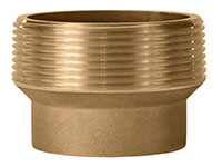 Brass 3 Inch (in) Male NPT x 2 Inch (in) Female NPT Size Thread Reducer Fitting