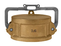 3 Inch (in) Size Brass Type DCL Lockable Dust Cap
