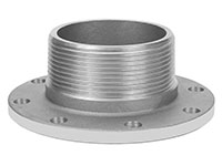 3 Inch (in) Size Aluminum Male NPT x TTMA Cam and Groove Coupling