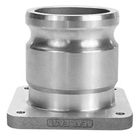 3 Inch (in) Size Aluminum Check Poppet Valve Fuel Inlet/Outlet Fittings (AF-300CP)