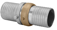 Aluminum Shank Coupling Complete Setwith Brass Nut