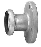 3 Inch (in) Size Zinc Plated Steel Male Flanged Bauer Type Coupling