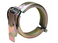 6 Inch (in) Size Zinc Plated Steel Lever Ring