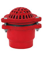 4 Inch (in) Hose Size Foot Valve