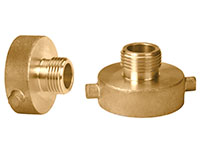 1 1/2 x 3/4 Inch (in) Size FNST x MGHT Brass Adapter