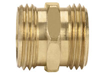 Garden Hose Fittings - Male GHT x Male GHT (23A-12)
