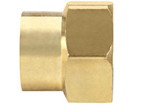 Garden Hose Fittings - Female Hose x Female Pipe (5A-12E)