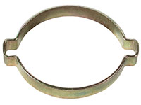 1 3/4 Inch (in) Nominal Size Zinc Plated Pinch On Hose Clamp