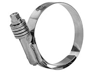 57 x 80 Millimeter (mm) Size Stainless Steel Constant Torque Hose Clamp with Liner