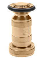 1 1/2 Inch (in) NPSH Size Satin Brass Industrial Fog Nozzle