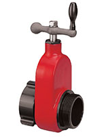 Hardcoat Aluminum 2 1/2 Inch (in) Gate Valves -596