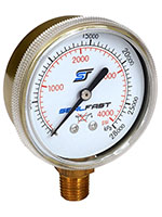 2 Inch (in) Oxygen Analog Pressure Gage (G-2-200SF)