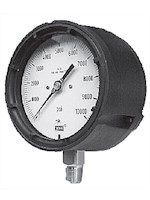 "4 1/2"" Face x 1/2"" LM Polycase Process Liquid Filled Gauge (L9834074-1000) - 2"