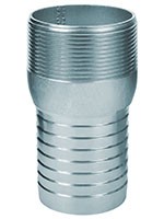 3 Inch (in) Size Zinc Plated Steel Male NPT Combination Nipple Fitting