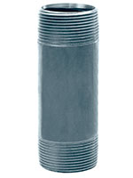 1/2 Inch (in) Size Close Length Galvanized Steel Threaded Nipple