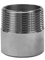 1 x 2 Inch (in) Size 316 Stainless Steel T.O.E. Welding Nipple