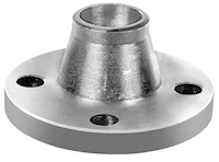 1 1/2 Inch (in) Pipe Size 316 Stainless Steel Weld Neck Raised Face ANSI B16.5 Forged 150# Flange