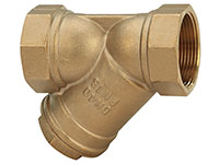 1 Inch (in) Size Brass Y Strainer