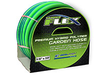 5/8 Inch (in) x 100 Feet (ft) Size Premium Hybrid Polymer Garden Flex GHT Hose Fitting