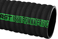 Black EPDM Rubber Water Suction Corrugated Hose
