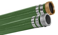 Green PVC Suction Hose Assemblies